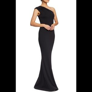 Dress the Population Dresses - Dress The population eva one shoulder gown